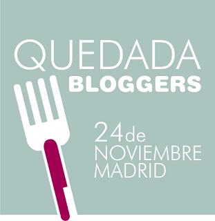 Quedada de bloggers en Madrid – Otoño 2012