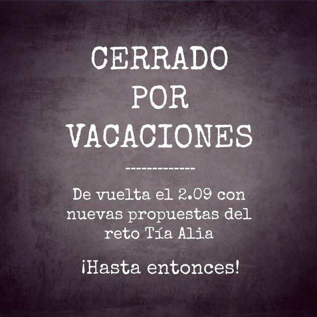 Cerrado por vacaciones…¡hasta septiembre!