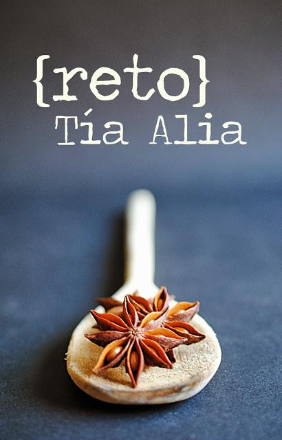 Día de publicación reto Tía Alia [recetas de septiembre]