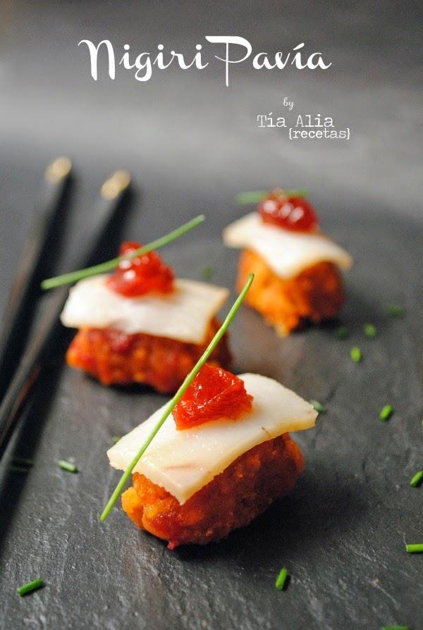 Nigiri Pavía [falso sushi]