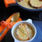 Sopa de cebolla y queso para #DesafíoBRA