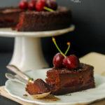 Tarta de mascarpone al cacao con cerezas del Jerte parael #díadeCEREZADELJERTE