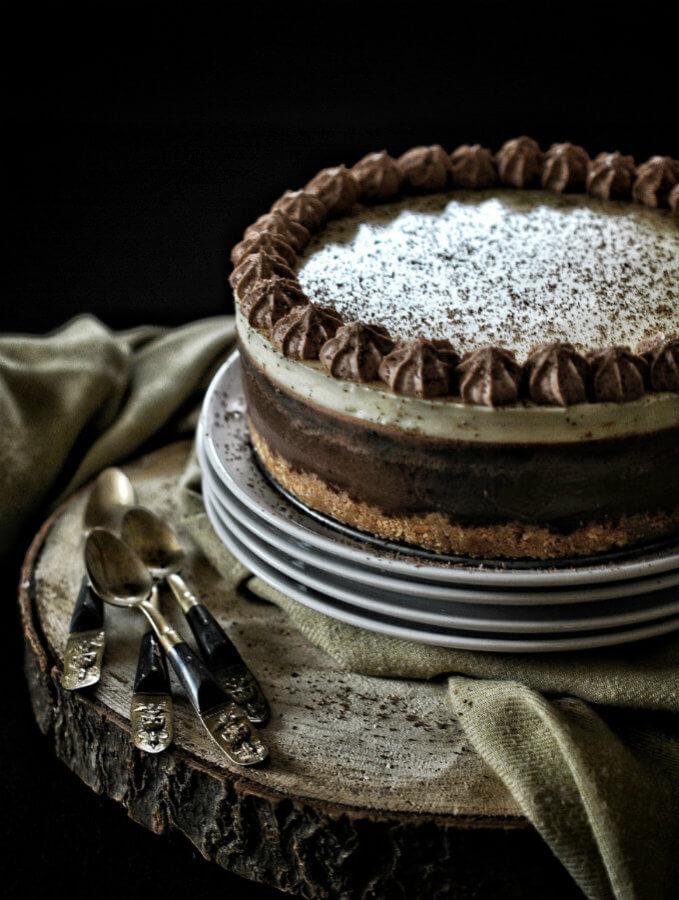 Tarta de tres chocolates. Receta