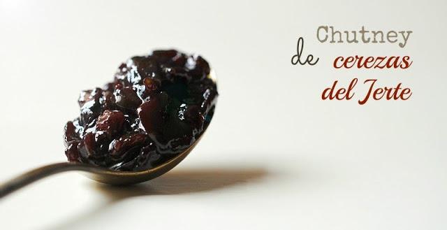 Chutney de cerezas del Jerte