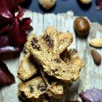 Biscotti de castañas y chips de chocolate. Receta