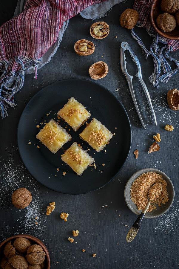 Baklava tradicional turca