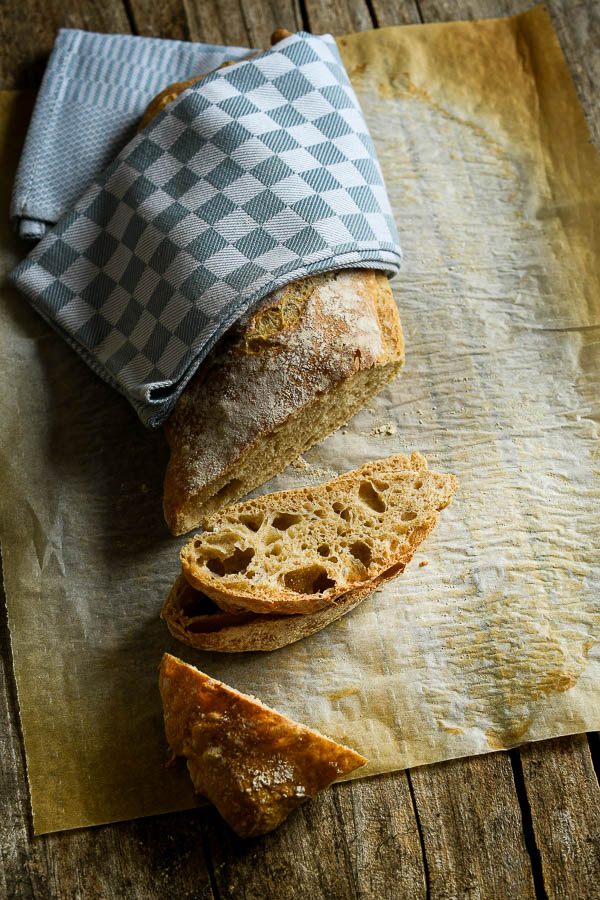 pan chapata o ciabatta italiana